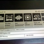 ACER Aspire E5-475/ Core i3-6006
